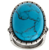 ASOS Genuine Turquoise Cocktail Ring
