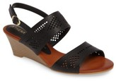 Athena Alexander Women's Sparce Perforated Wedge Sandal
