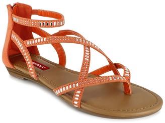 UNIONBAY Ludlow Crystal Embellished Sandal