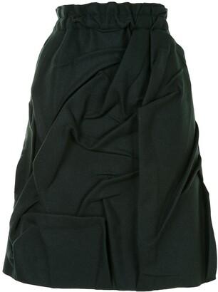 MM6 MAISON MARGIELA Ruched High-Waisted Skirt