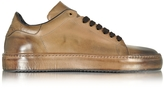 Cesare Paciotti Dune Aged Leather Men's Sneaker