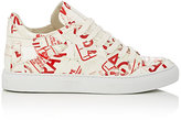 "MM6 MAISON MARGIELA Women's ""Fragile""-Print PVC Sneakers"