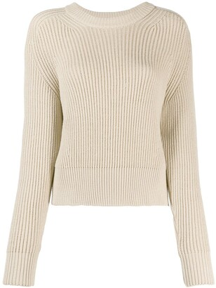 AMI Paris Crew Neck Knitted Jumper