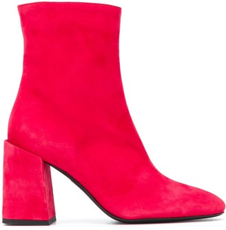 Furla Side Zipped Ankle Boots