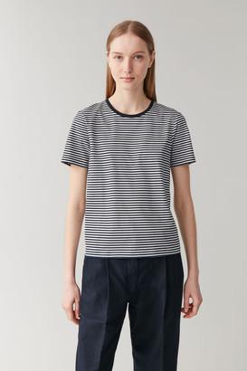Cos Cotton-Jersey Round-Neck T-Shirt