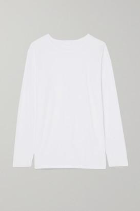 Handvaerk - Cotton-jersey Top - White