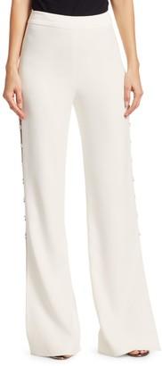 Jonathan Simkhai Studded Side Slit Pants