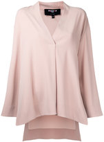 Paule Ka V-neck blouse