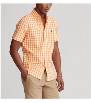Polo Ralph Lauren Men's Classic Fit Gingham Poplin Shirt