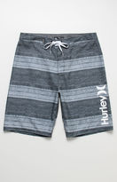 "Hurley Novamatic Striped 21"" Boardshorts"