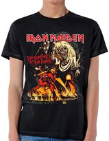 Global Iron Maiden Men's Number Of The Beast T-shirt