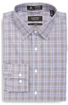 Nordstrom Smartcare(TM) Trim Fit Plaid Dress Shirt