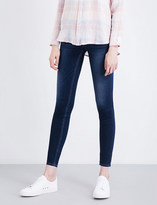 Hudson Collin skinny mid-rise jeans