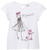 Milly Minis Screenprint Tee (Little Girls)