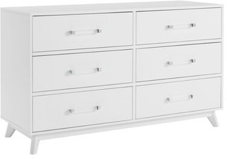 Isa Belle Tazewell 6 Drawer Double Dresser Isabelle & Max Color: Oyster White