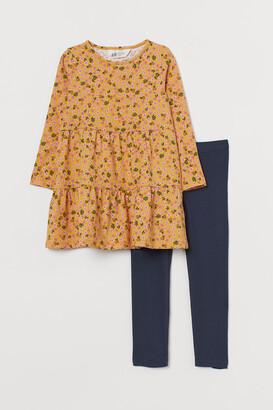 H&M 2-piece Jersey Set