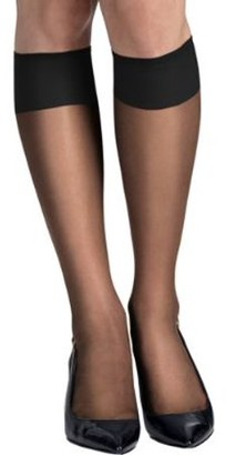 Hanes Womens Silk Reflections Reinforced Toe Knee Highs 6-Pack Style-QM6775