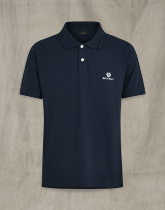 Belstaff SHORT SLEEVED POLO navy