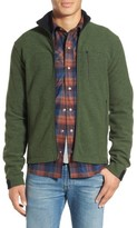 Ibex Men's 'Scout Jura' Merino Wool Blend Zip Jacket