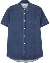 Acne Studios Isherwood Blue Denim Shirt