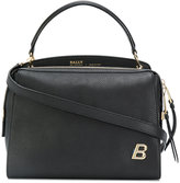 Bally logo plaque shoulder bag - women - Leather - One Size