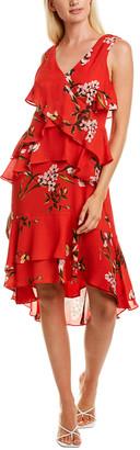 Taylor Tiered Ruffle Midi Dress
