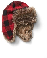 Gap Buffalo plaid trapper hat
