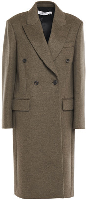 Victoria Beckham Double-breasted Wool And Cashmere-blend Felt Coat