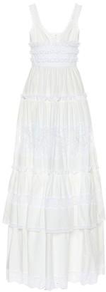 Dolce & Gabbana Cotton poplin maxi dress