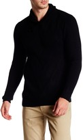 Autumn Cashmere Shawl Collar Toggle Pullover