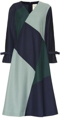 BODICE Wool-blend midi dress
