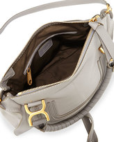 Chloé Marcie Medium Satchel Bag, Gray