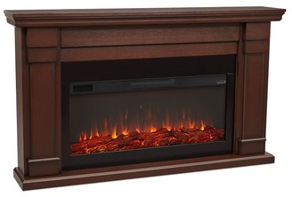 Pottery Barn Real Flame Carlisle Grand Electric Fireplace