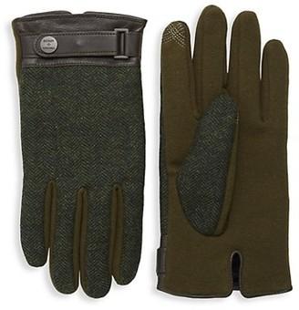 Bickley + Mitchell Houndstooth Gloves