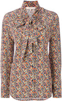 Vanessa Bruno floral embroidered shirt - women - Silk - 36