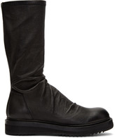 Rick Owens Black Creeper Sock Boots
