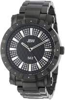 "JBW Men's JB-6225-D ""562"" Pave Dial Ion-Plated Diamond Watch"