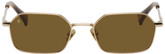 Raen Gold Hewes Sunglasses