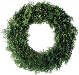 The Well Appointed House Fresh Round Estate Boxwood Christmas Wreath-Available in Four Different Sizes