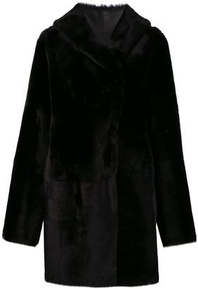 Sylvie Schimmel Cortina teddy coat