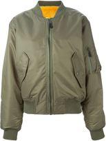 Liska mink fur lining bomber jacket