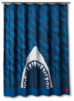 Discovery Shark Week Shower Curtain - Navy