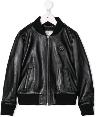 Philipp Plein Junior Anniversary 20th bomber jacket