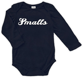 Urban Smalls Navy 'Smalls' Long-Sleeve Bodysuit - Infant