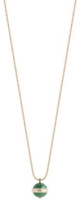 Piaget Rose Gold, Diamond and Malachite Possesion Necklace