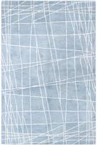 Blue Area Bashian Paige Light Rug, 5.6'x8.6'
