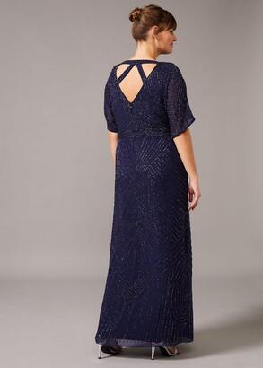 Phase Eight Donnatella Beaded Maxi Dress