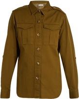 Etoile Isabel Marant Obrain cotton-gabardine military shirt
