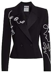 Moschino Women's Doodle Jacket