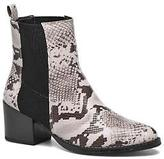 Vero Moda Women's Naya Boot Ankle Boots in Grey